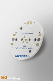 MCPCB Diametre 35mm pour 1 LED Lumileds Luxeon T