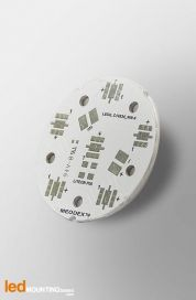 D40 MCPCB for 6 LEDs Liteon P00 Ledil LED Lens compatible